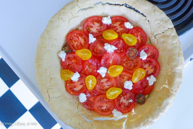 tomato & zucchini tart cassava flour-42