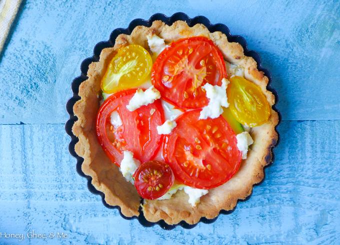 tomato & zucchini tart cassava flour-44