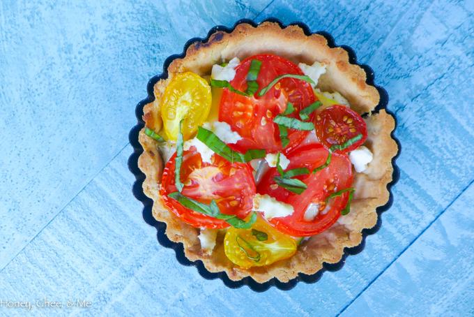 tomato & zucchini tart cassava flour-46