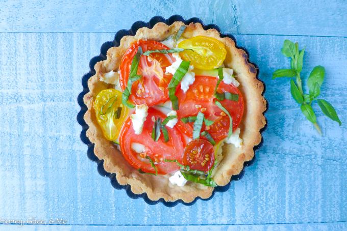 tomato & zucchini tart cassava flour-48