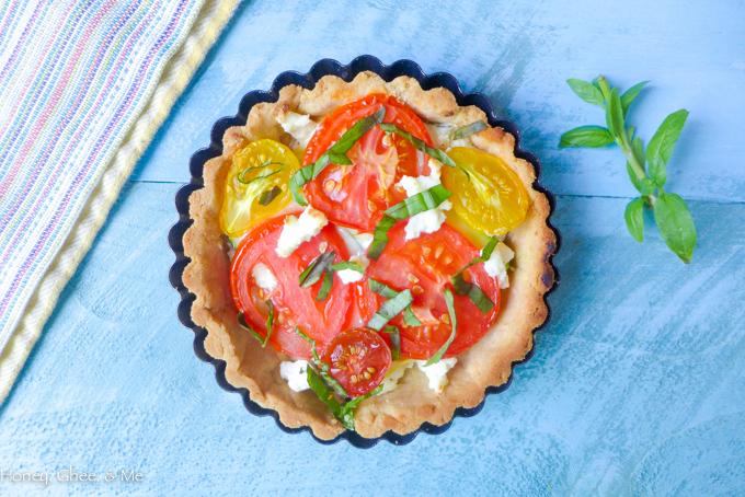 tomato & zucchini tart cassava flour-50