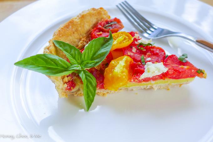 tomato & zucchini tart cassava flour-60