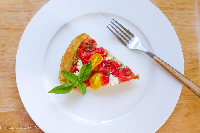tomato & zucchini tart cassava flour-62