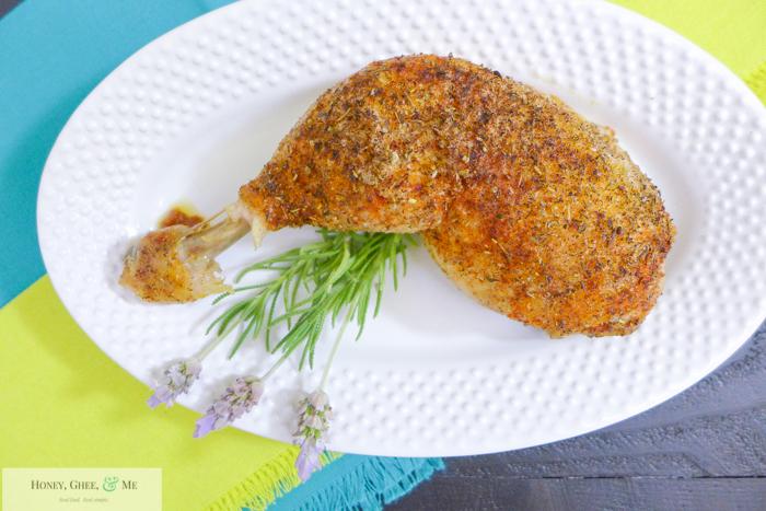 simple roast chicken leg-24