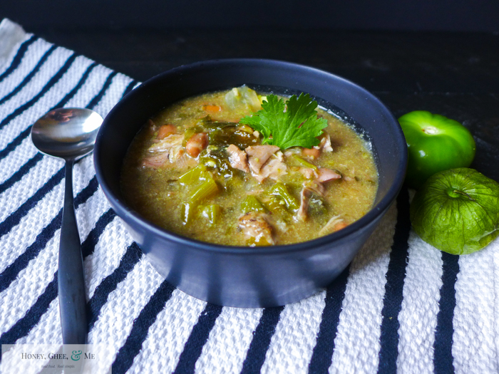 green chile verde pork stew crock pot slow cook-1-3