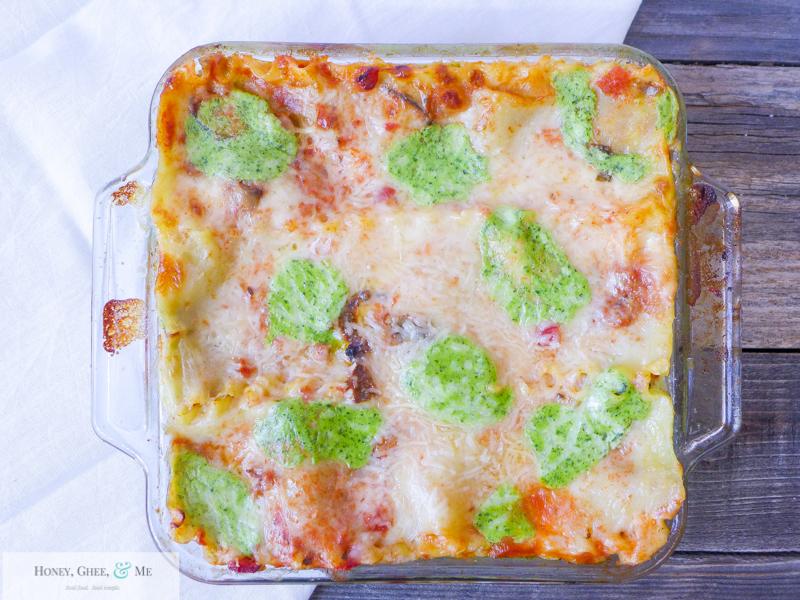 lasagna ricotta spinach paleo spaghetti squash zucchini-102