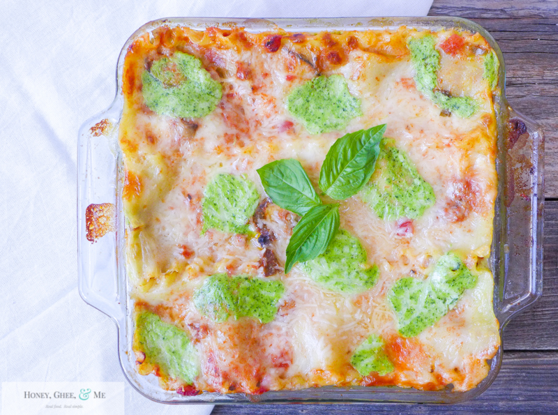 lasagna ricotta spinach paleo spaghetti squash zucchini-105