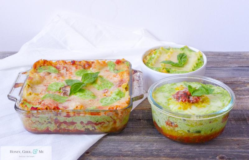 lasagna ricotta spinach paleo spaghetti squash zucchini-108