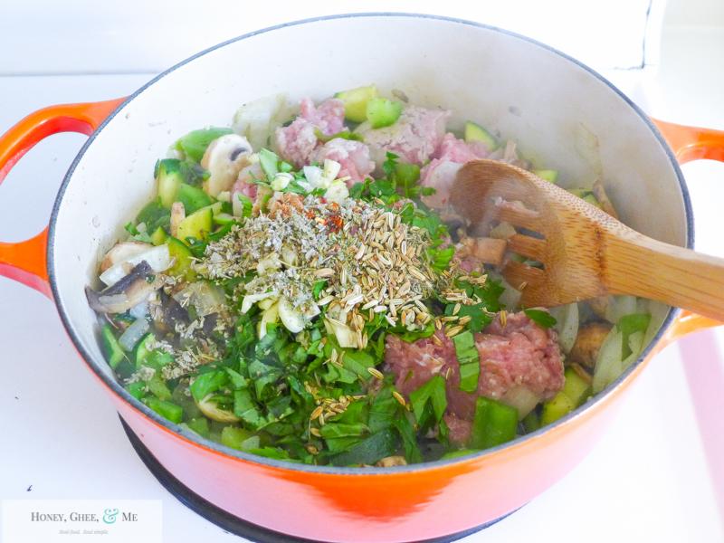 lasagna ricotta spinach paleo spaghetti squash zucchini-15