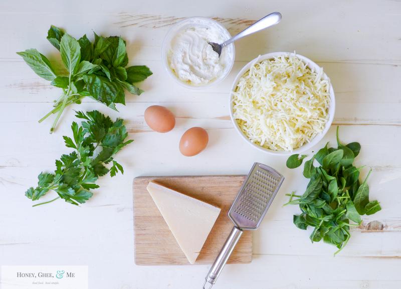 lasagna ricotta spinach paleo spaghetti squash zucchini-2-2