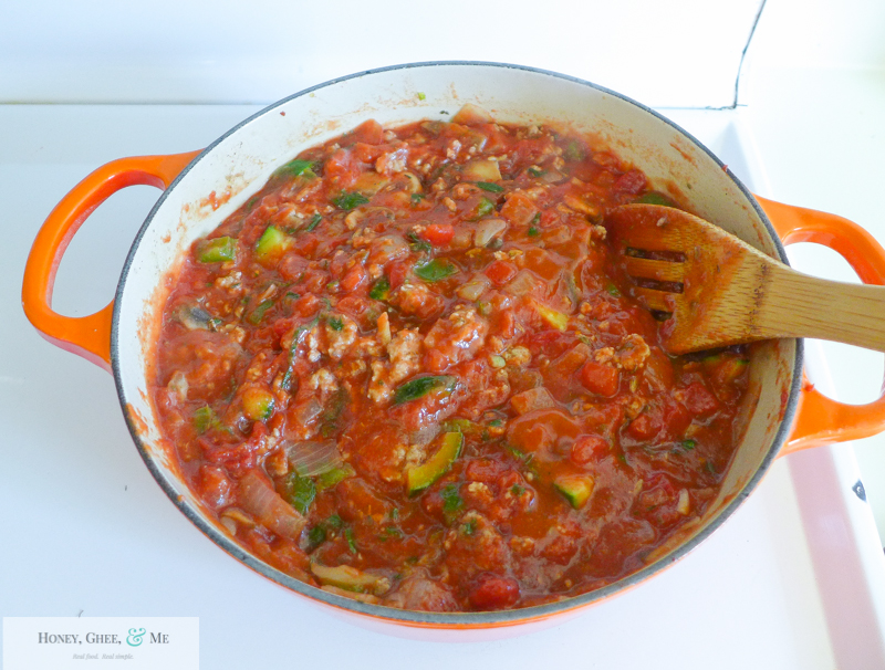 lasagna ricotta spinach paleo spaghetti squash zucchini-22