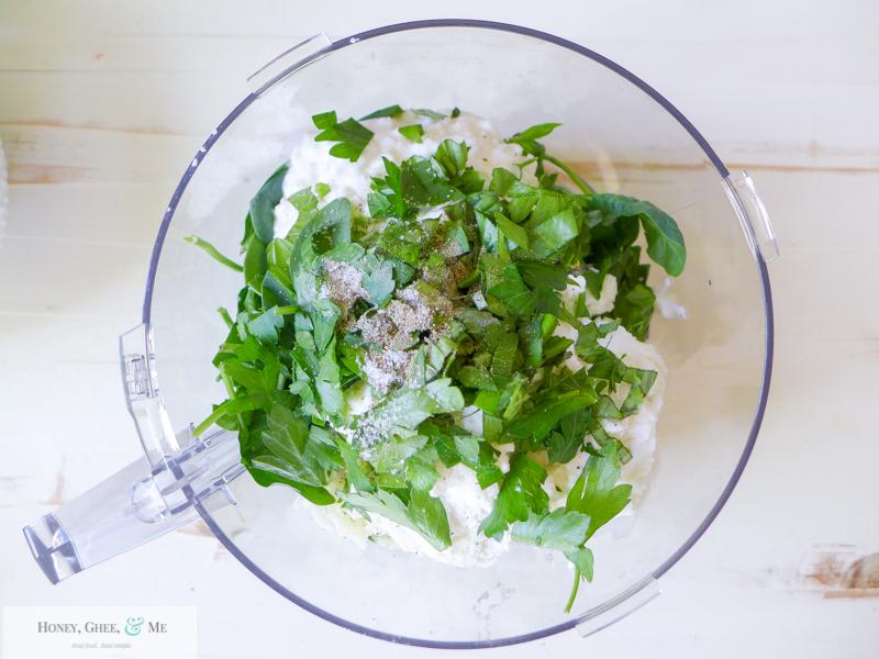 lasagna ricotta spinach paleo spaghetti squash zucchini-27