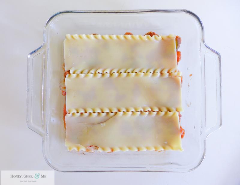 lasagna ricotta spinach paleo spaghetti squash zucchini-49
