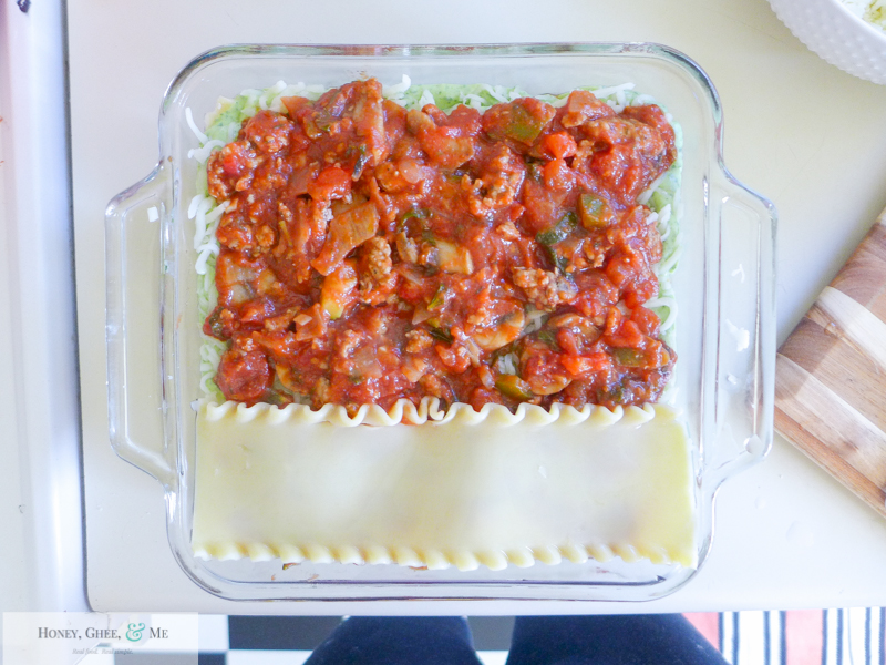lasagna ricotta spinach paleo spaghetti squash zucchini-61