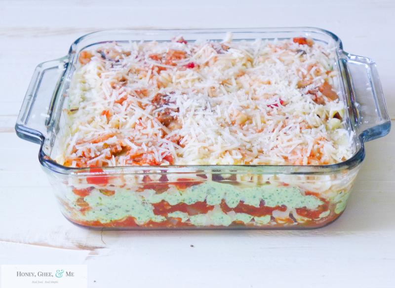 lasagna ricotta spinach paleo spaghetti squash zucchini-65