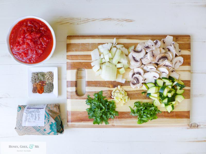 lasagna ricotta spinach paleo spaghetti squash zucchini-7