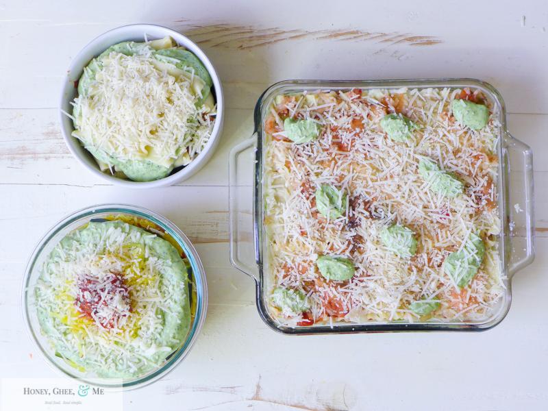 lasagna ricotta spinach paleo spaghetti squash zucchini-83