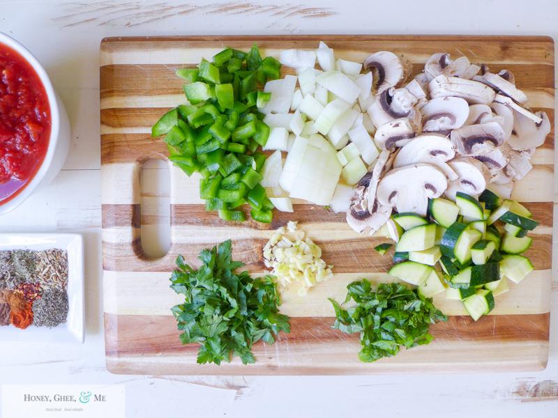 lasagna ricotta spinach paleo spaghetti squash zucchini-9