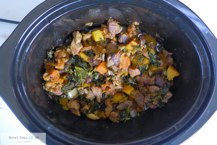 pork apricot kale garlic butternut squash slow cooker crock pot-26