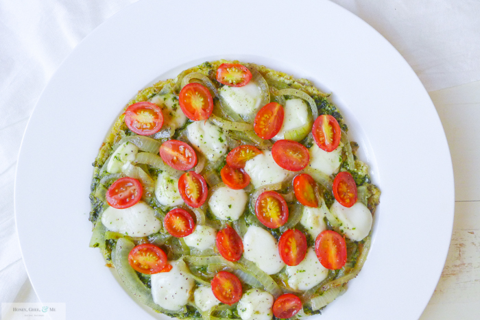 breakfast pesto omelet pizza frittata-18