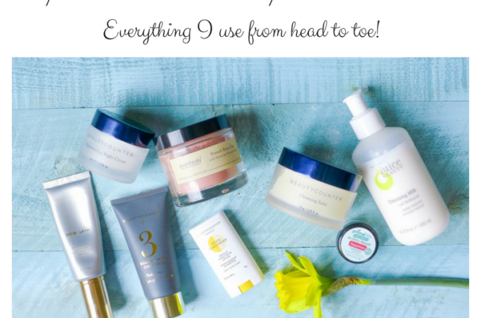 My Safer Beauty Picks!  From Head to Toe…
