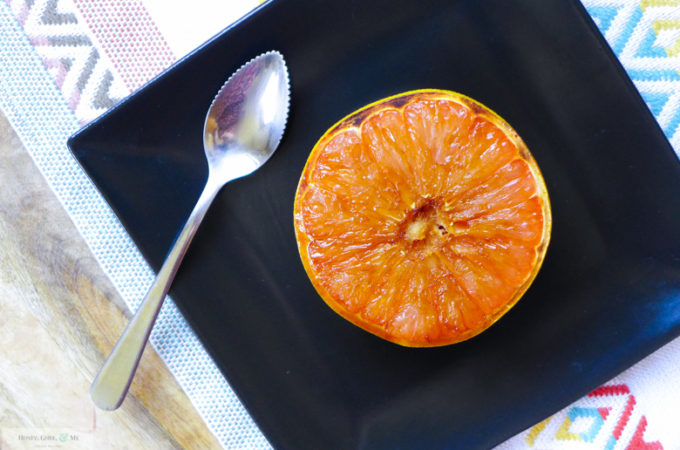 Broiled Grapefruit {w/Coconut Sugar & Cinnamon}
